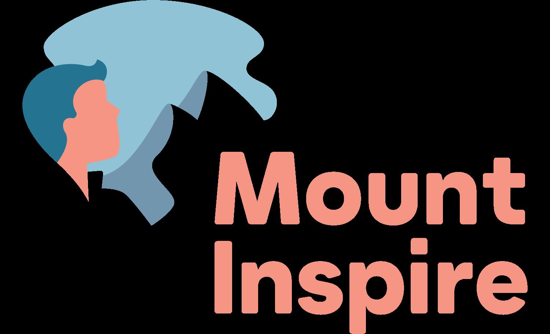 Mount Inspire Logo mit Icon vertikal